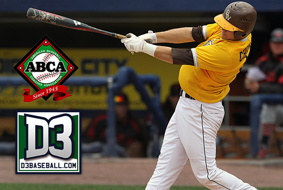 BW Junior Kyle Chontos is an ABCA &  D3Baseball.com All-American