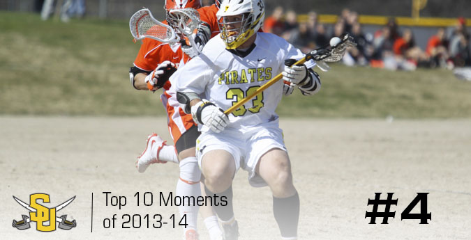 No. 4: Men's Lacrosse caps historic season