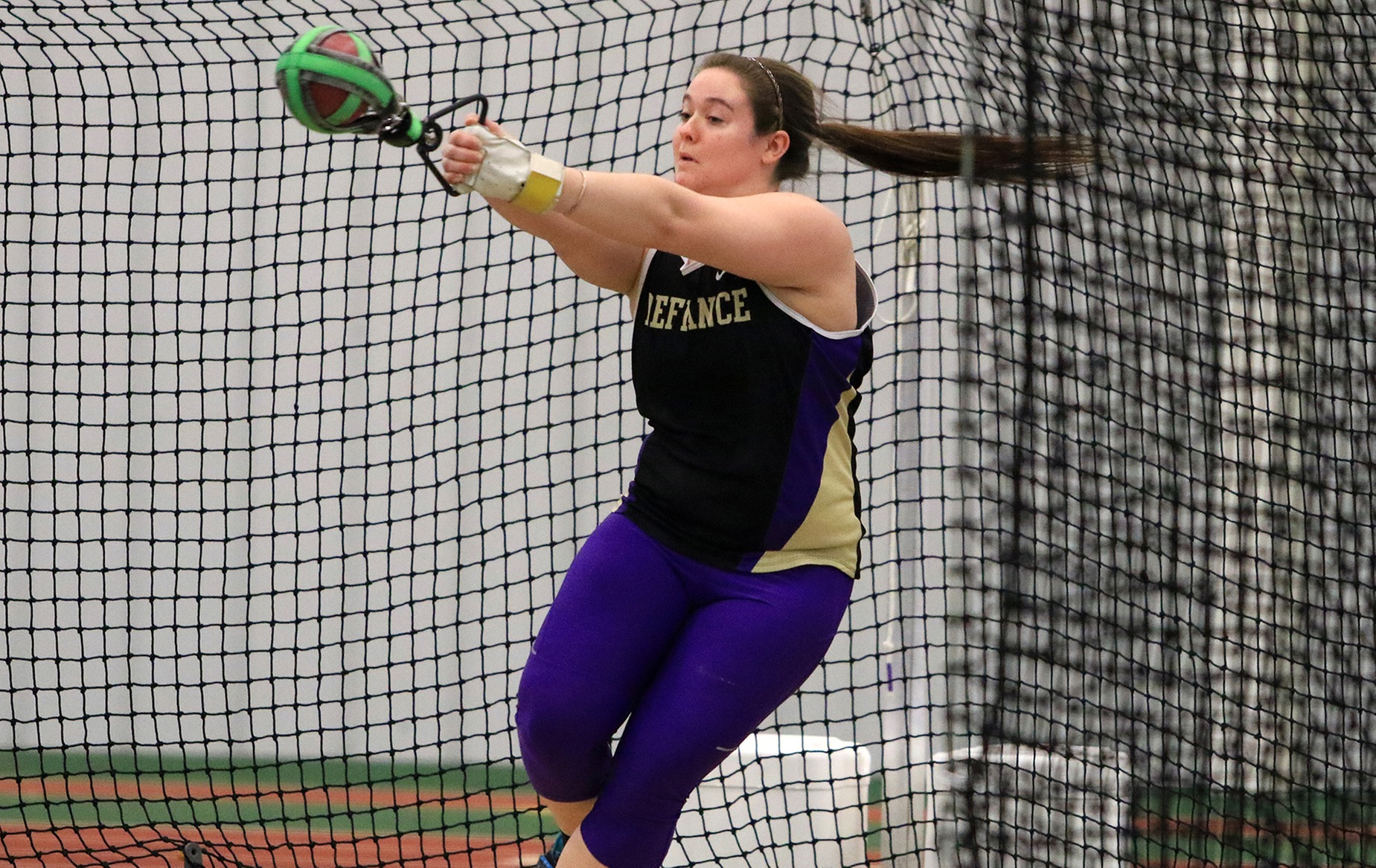 Williams Takes Third In Discus at HCAC Championships