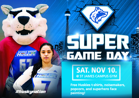 HUSKIES BASKETBALL, VOLLEYBALL ALL IN ACTION ON SUPER GAME DAY THIS SATURDAY