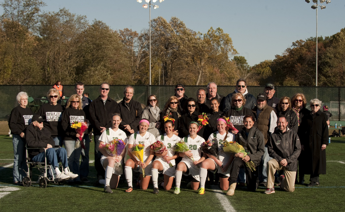 Marston, Calhoun Lead Mustangs to a 4-1 Victory Over Albright on Senior Day
