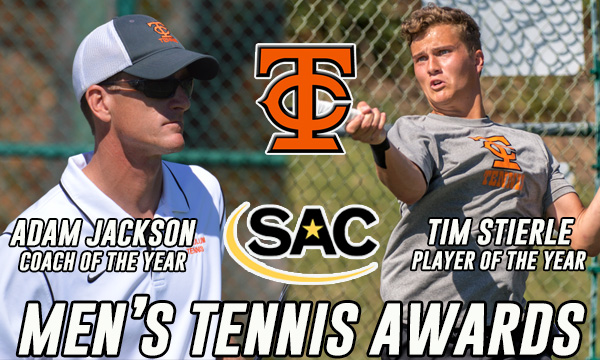 Stierle named SAC Player of the Year, Jackson earns coaching accolades