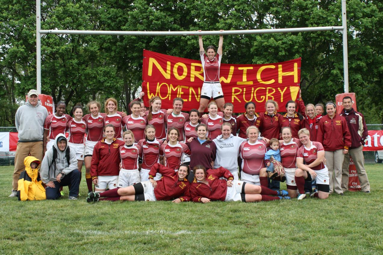 Women's Rugby - Norwich advances to USA Rugby Division II Final Four