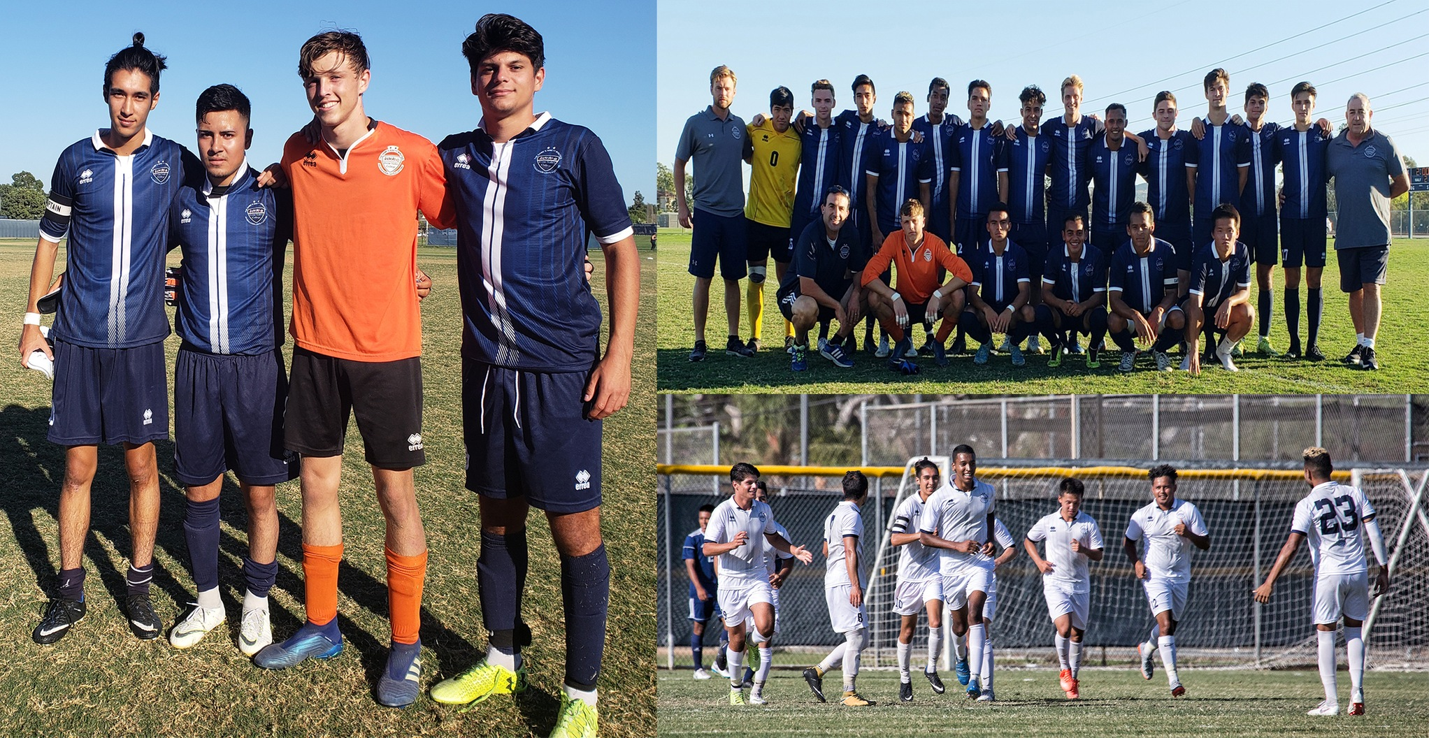 Honorable Mention Story - Men's soccer team makes playoff run