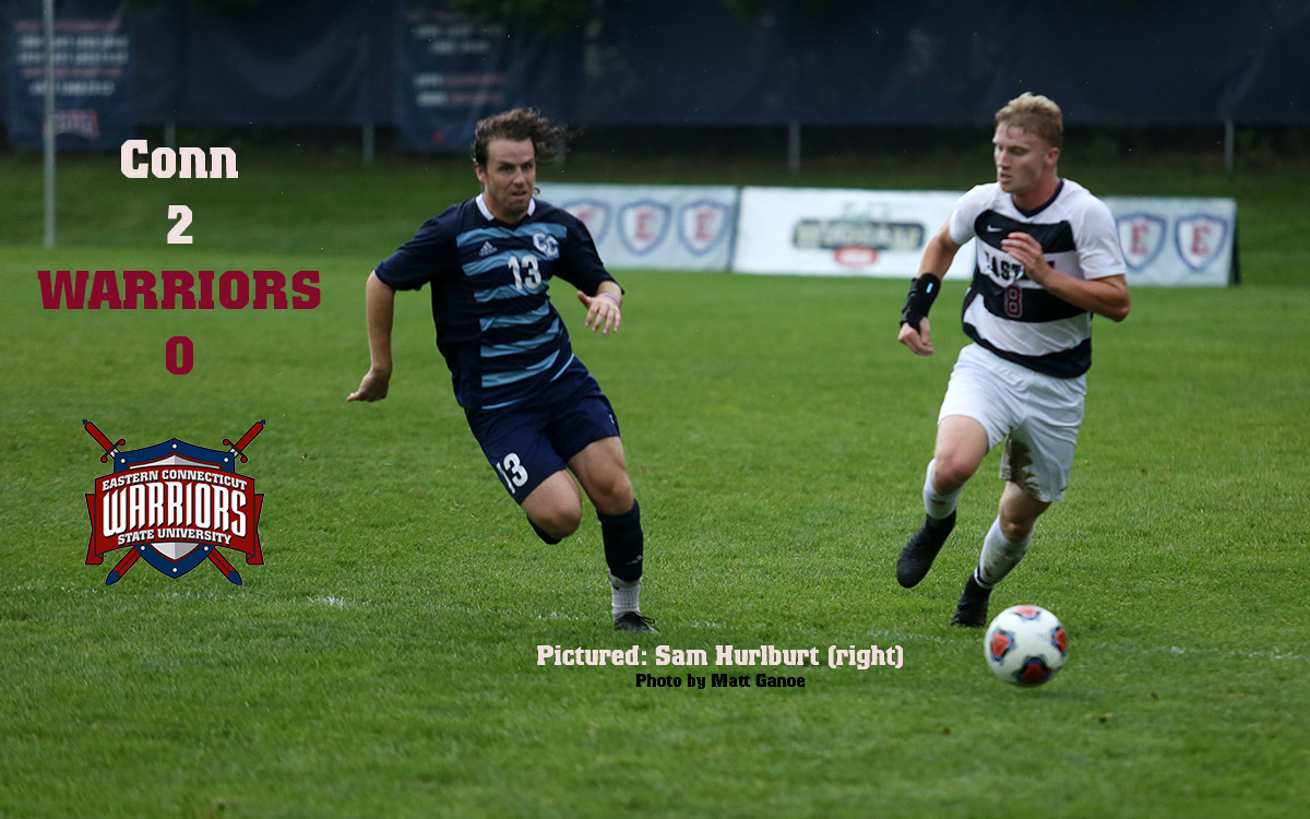 Men's Soccer: No. 11 Conn College Tops Warriors, Who Lose First at Home This Year