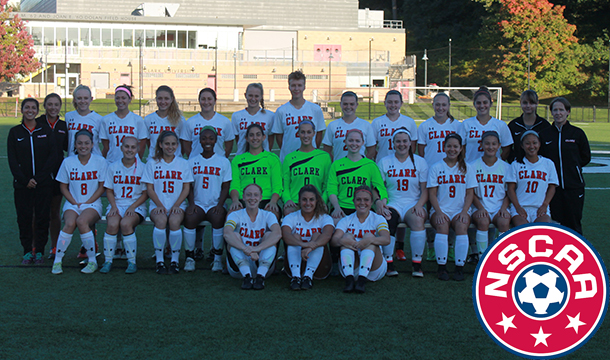 Women's Soccer Garners NSCAA Team Academic Award