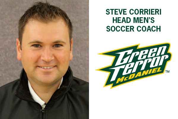 Corrieri named head men's soccer coach