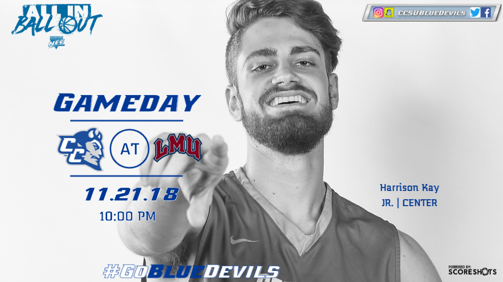 Men's Basketball Heads to Loyola Marymount Wednesday Night