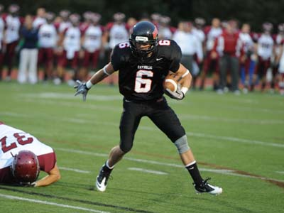 Guilford's late TD sends CUA to 34-27 loss on Senior Day