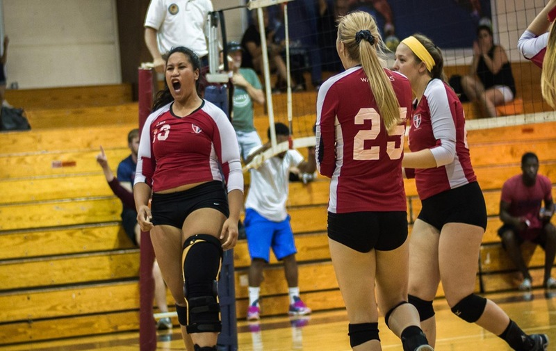 Women's Volleyball With Win Over Bloomfield Bears