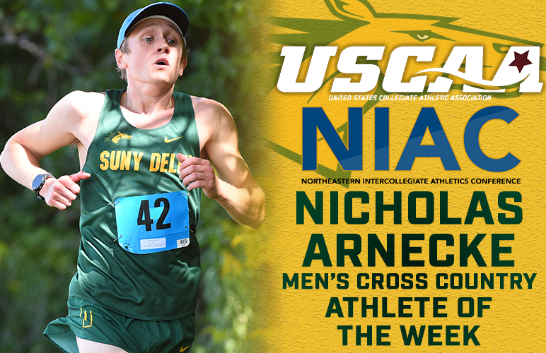 Arnecke Adds USCAA, NIAC Weekly Honors to Rewarding Week