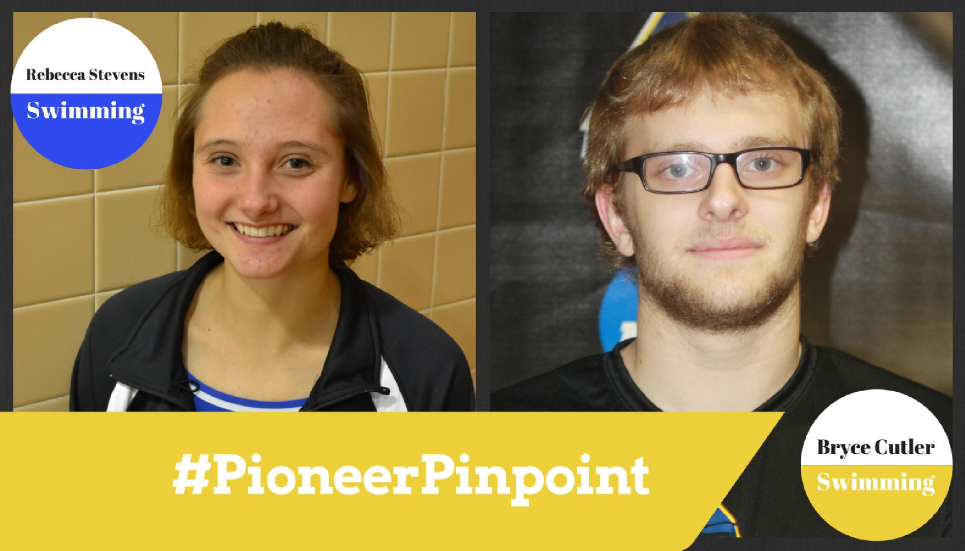 Stevens Honored by AMCC, Named #PioneerPinpoint Athlete of the Week with Cutler