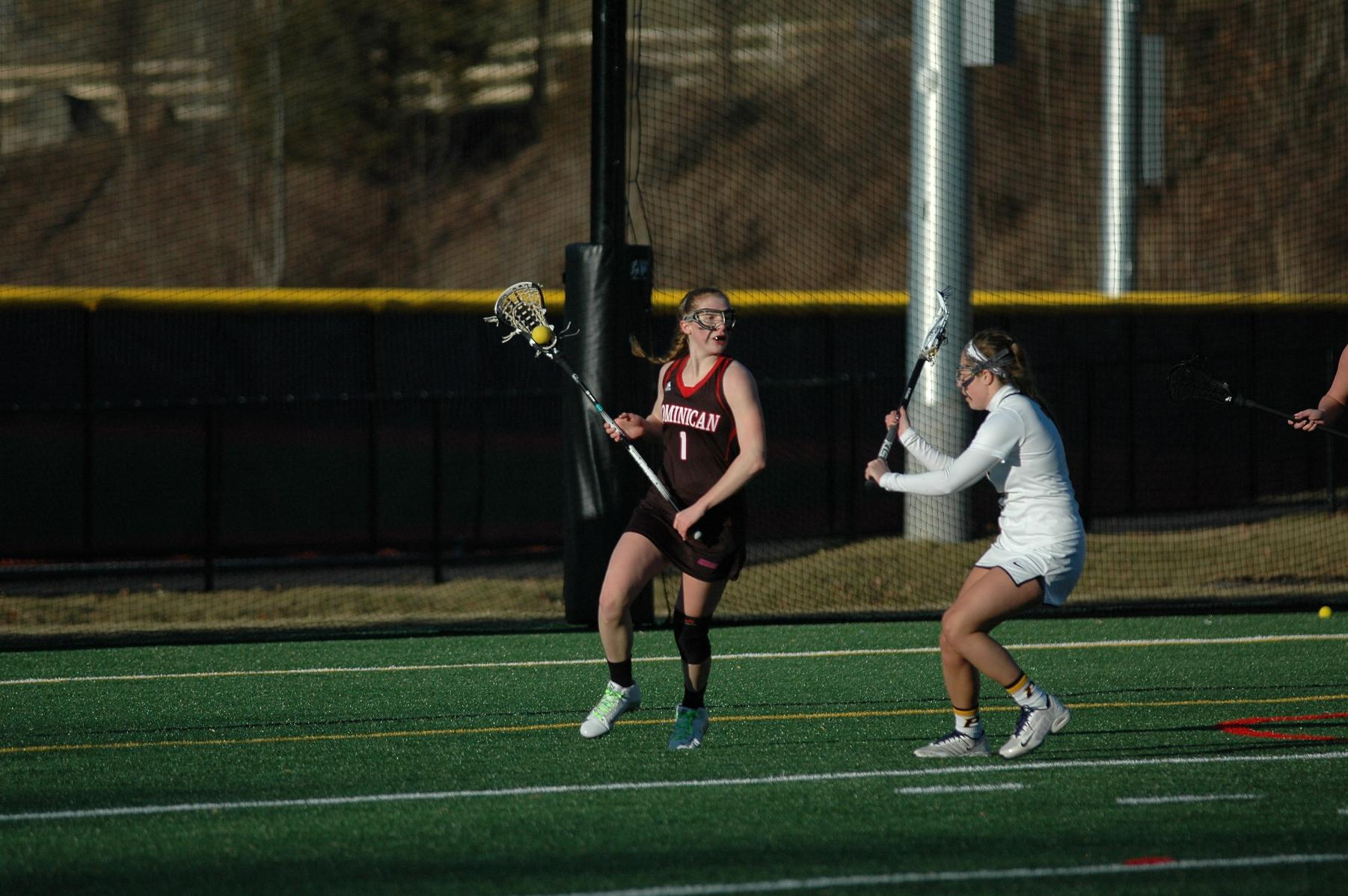 WOMEN'S LACROSSE REMAIN UNDEFEATED IN CONFERENCE PLAY