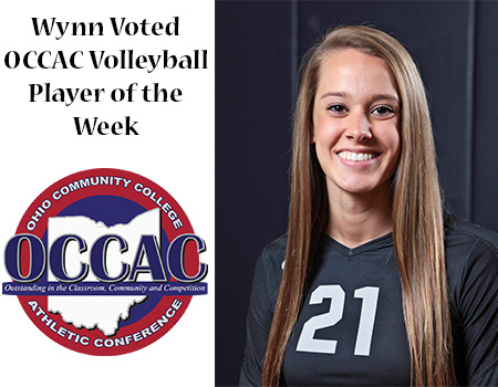 Columbus State's Wynn Voted OCCAC Player of the Week