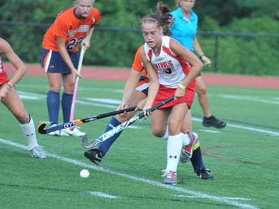 Fast start, strong defense lead CUA to third straight shutout