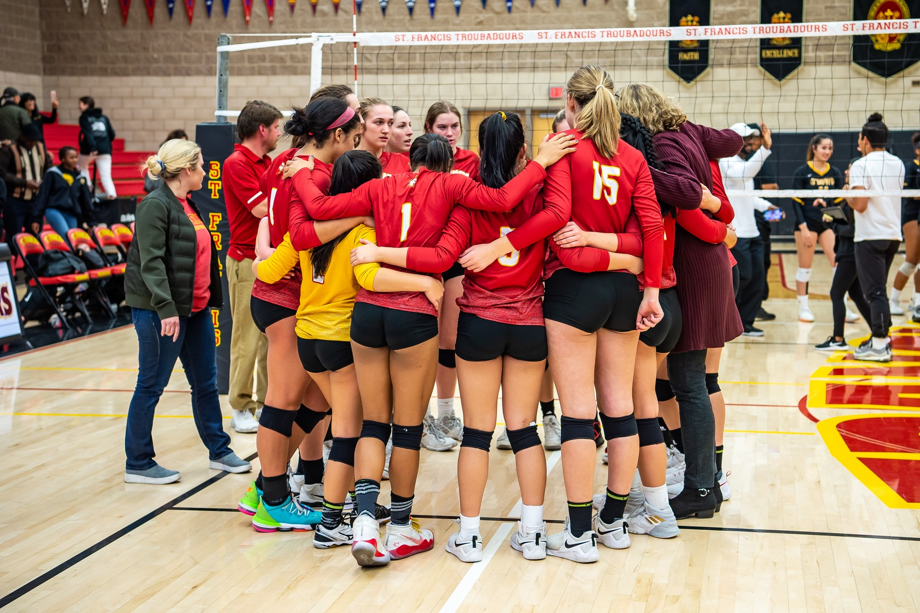Volleyball Ends Season on 3-0 Loss to Bishop O'Dowd in CIF Open Quarters
