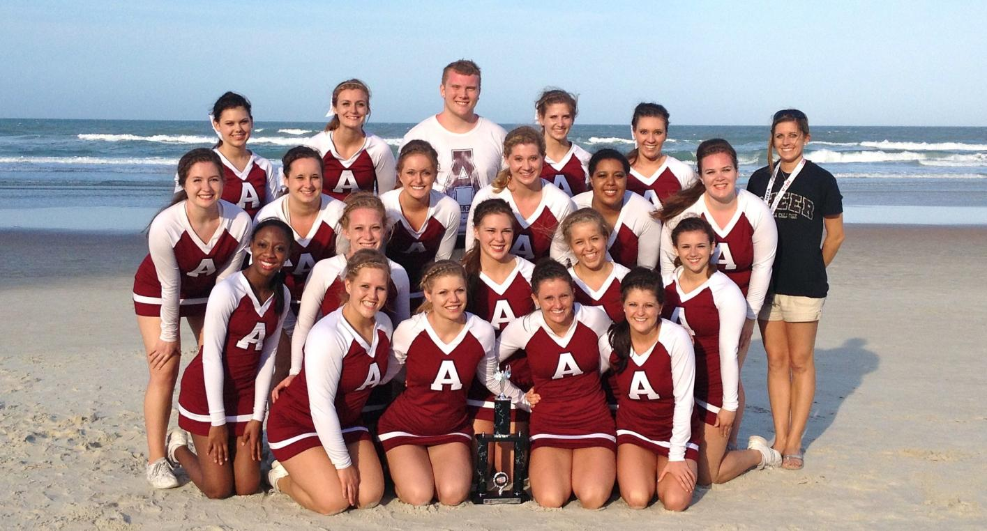 Alma College Competitive Cheer competed in 2013 NCA College Nationals