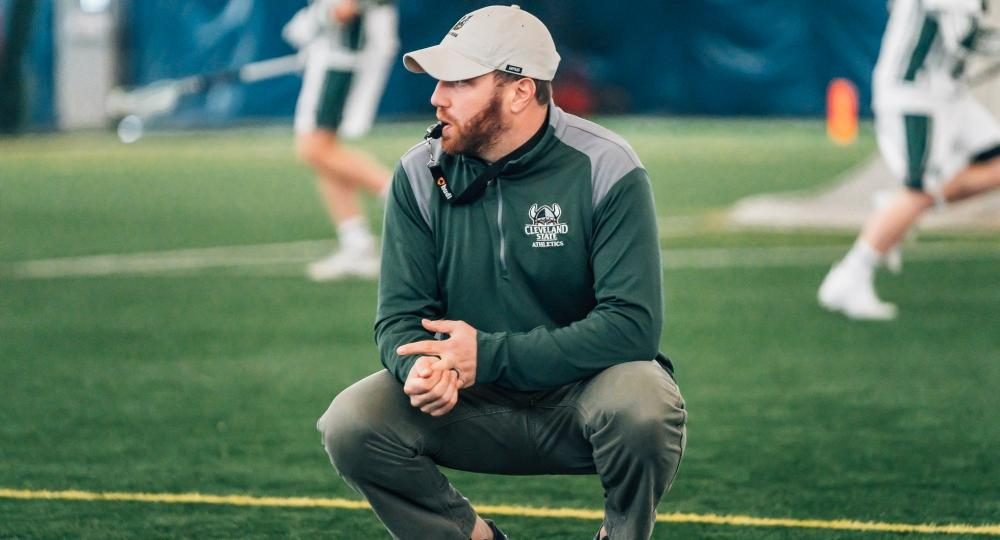 Andy German Named Cleveland State Head Lacrosse Coach