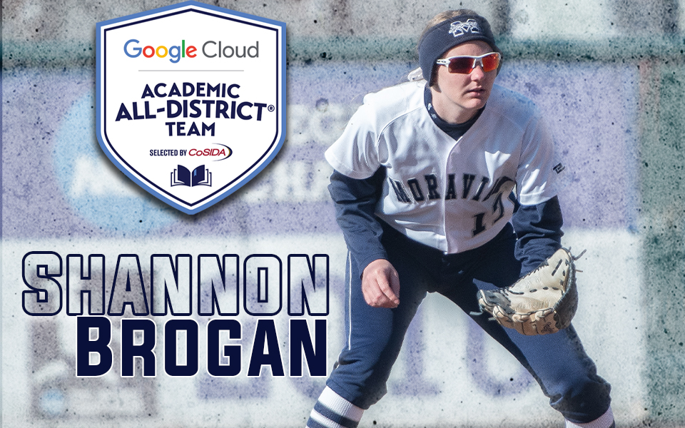 Shannon Brogan named to Google Cloud Academic All-District Team