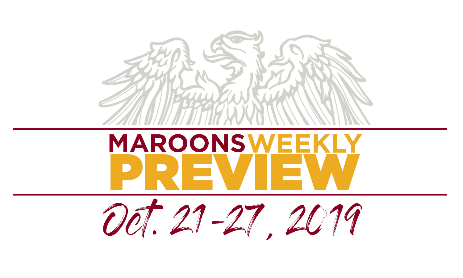 UChicago Athletics Preview: October 21-27