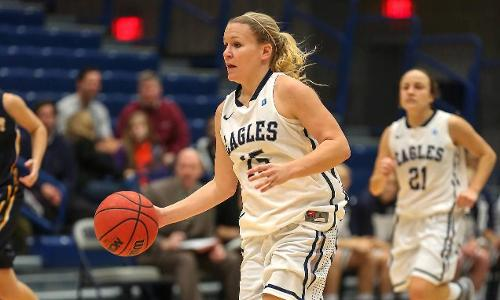 Eagles Defeat Marymount, 60-42, on Saturday