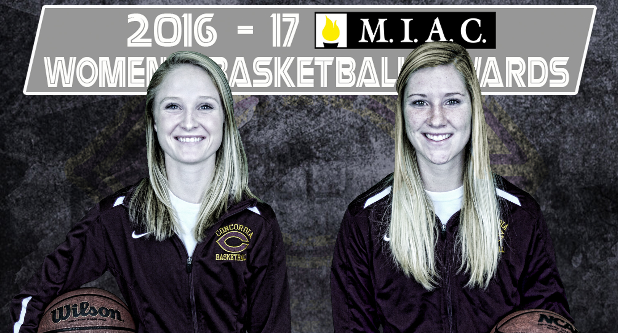 Greta Walsh and Jenna Januschka earned MIAC All-Conference honors.