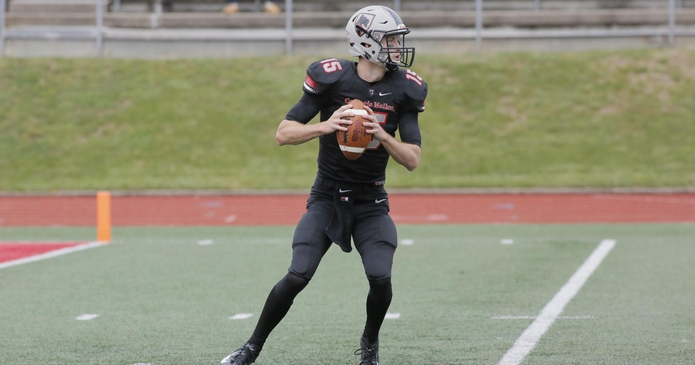 Cline Breaks Passing Record as Tartans Defeat Bethany, 17-14