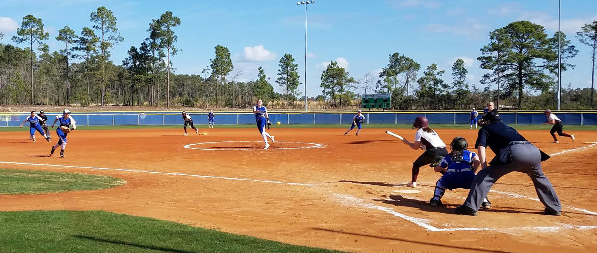Red Devils Drop Two at Fastpitch Dreams Classic