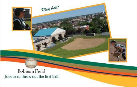 Robison Softball Field Dedication Celebration