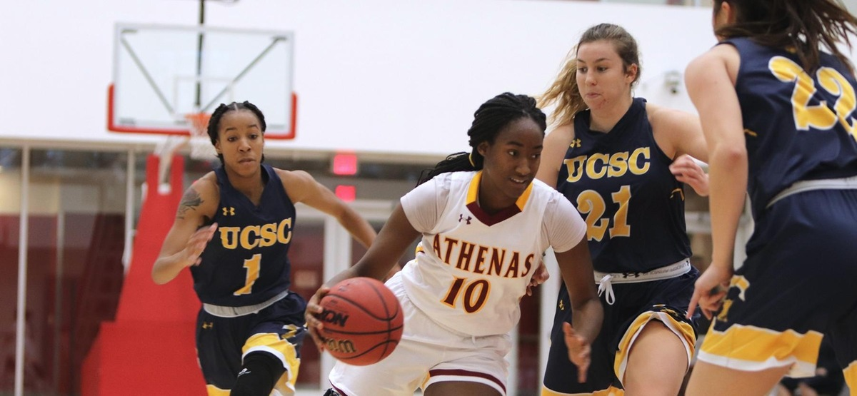 CMS Women's Basketball, Powered by Maya Love's Double-Double, Defeats UC Santa Cruz 67-51