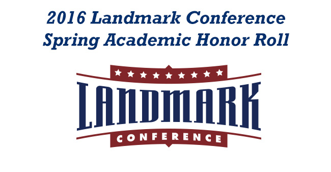 42 Moravian Student-Athletes Named to 2016 Landmark Conference Spring Academic Honor Roll