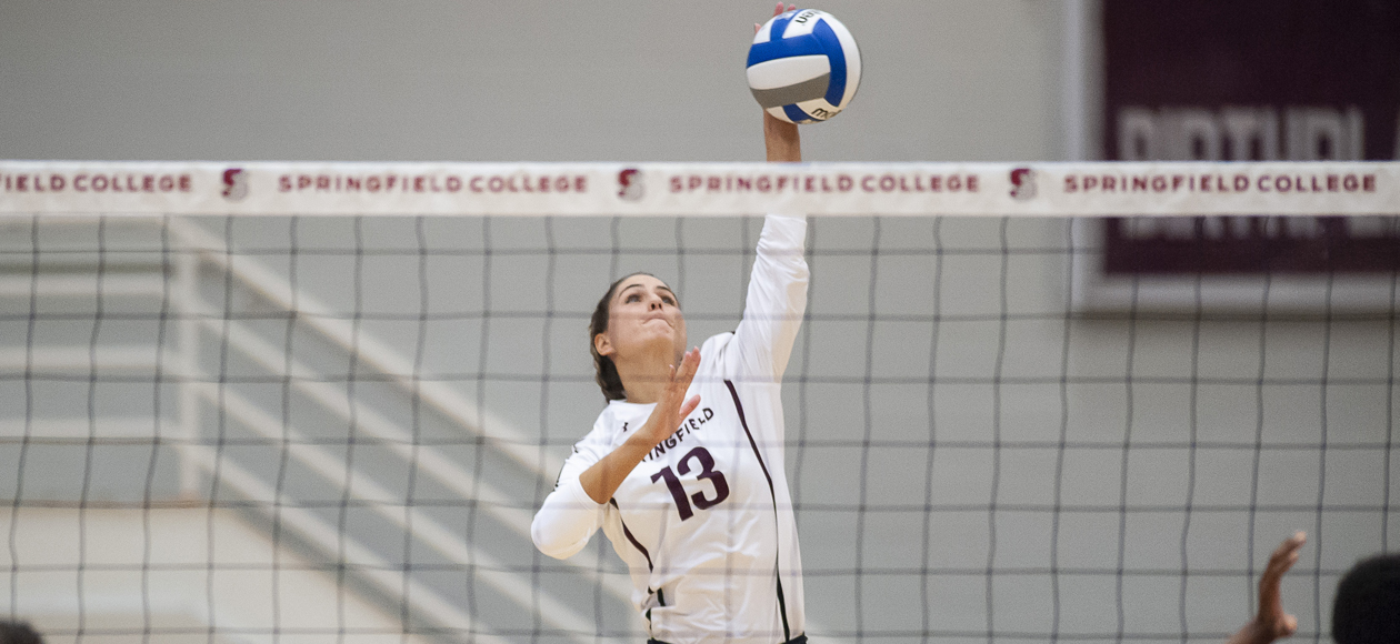 Women's Volleyball Breezes Past Mount Holyoke