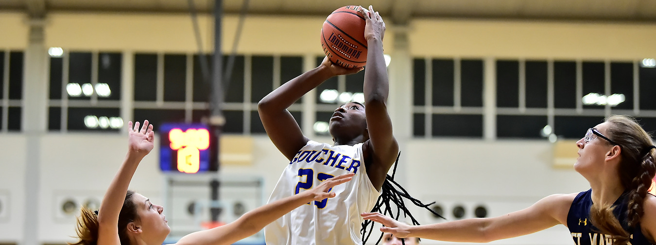 Nothing To Quarles About: Kyani Quarles Has Breakout Home Debut In Goucher Women's Basketball Win Against St. Mary's (Md.)
