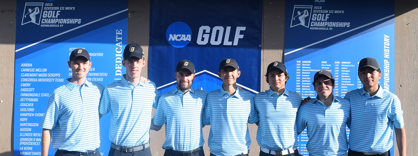 Goucher Men's Golf Wraps Up Season At NCAA Division III Men's Golf Championships