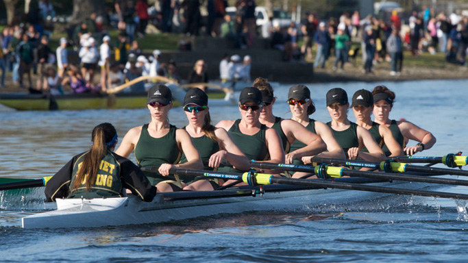 ROWING'S VARSITY EIGHT FINISHES SIXTH IN THE CAL CUP GRAND FINAL