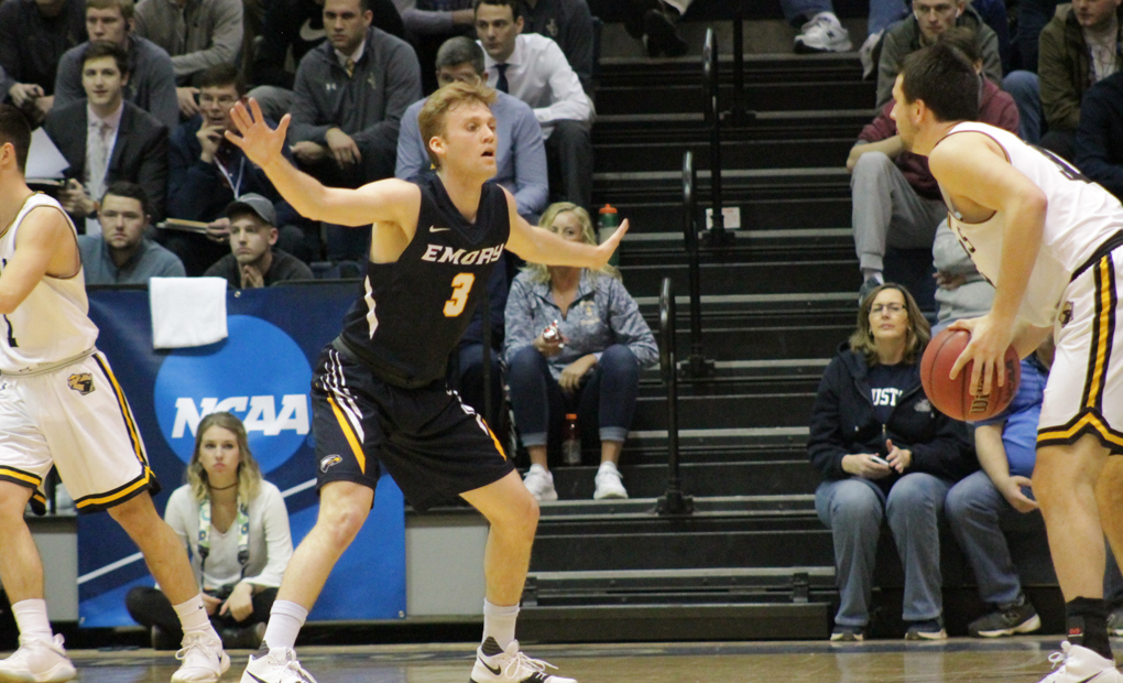 Emory Men's Basketball Sees Season Come To An End In NCAA Tourney Round Of 16