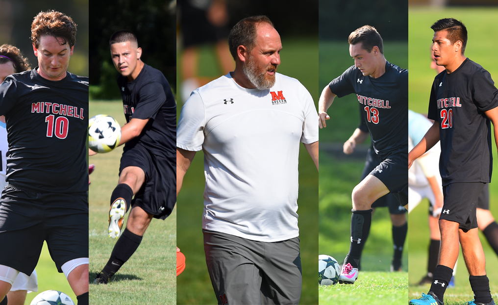 Five From Men's Soccer Honored by NECC