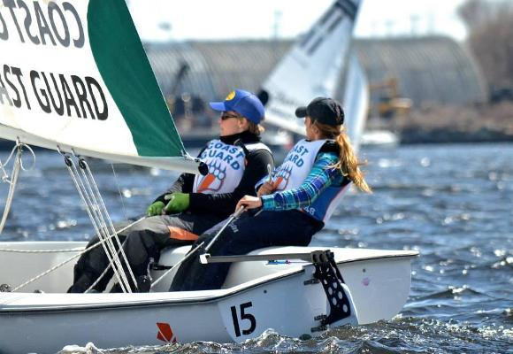 Women's Sailing Seventh After Day One of National Championship