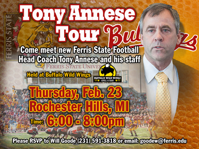 "Final ""Tony Annese Tour"" Stop Thursday Night"
