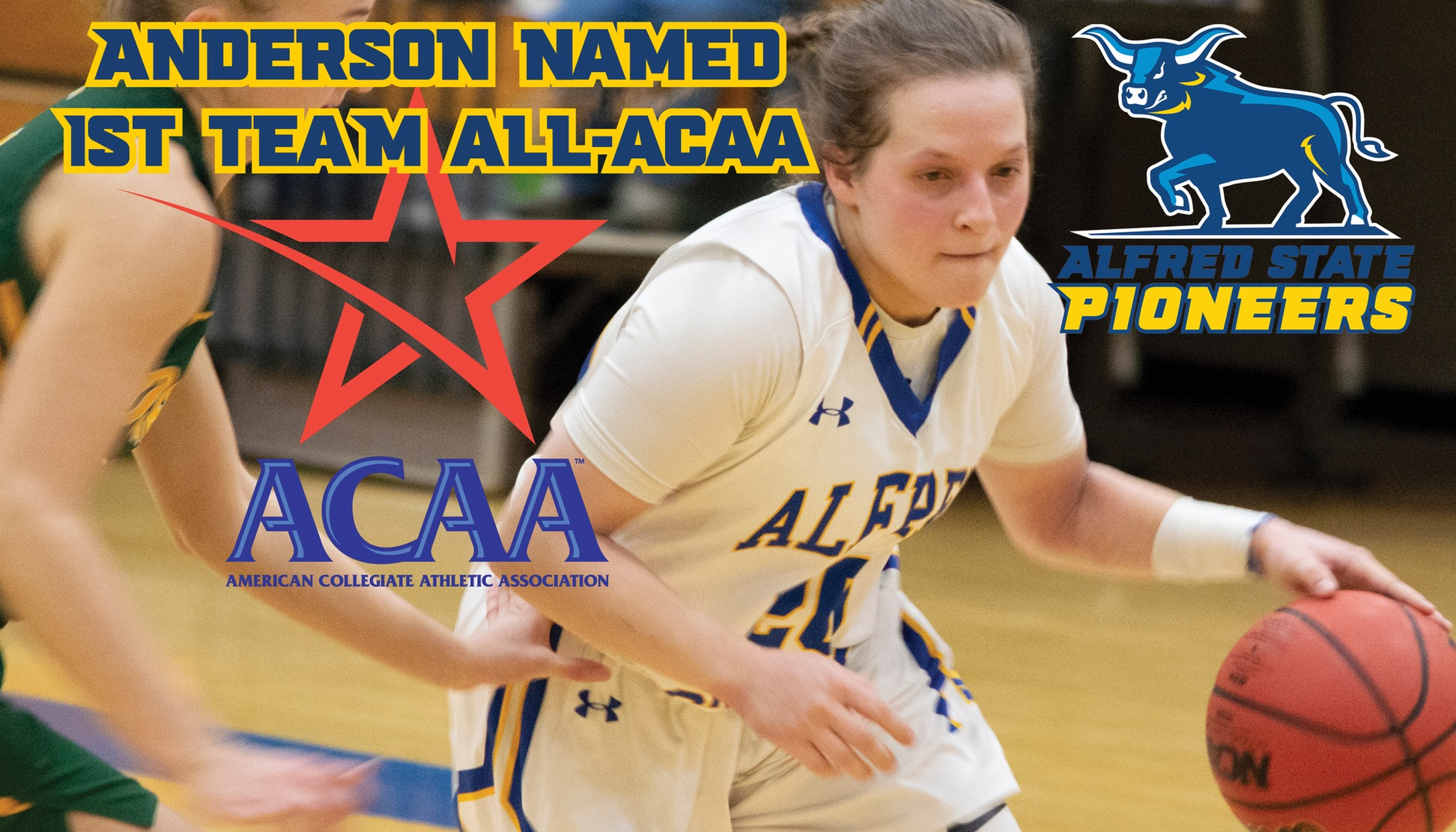 Rayanna Anderson named All-ACAA 1st team