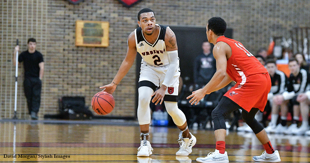 Swarthmore Slips Past Men's Basketball