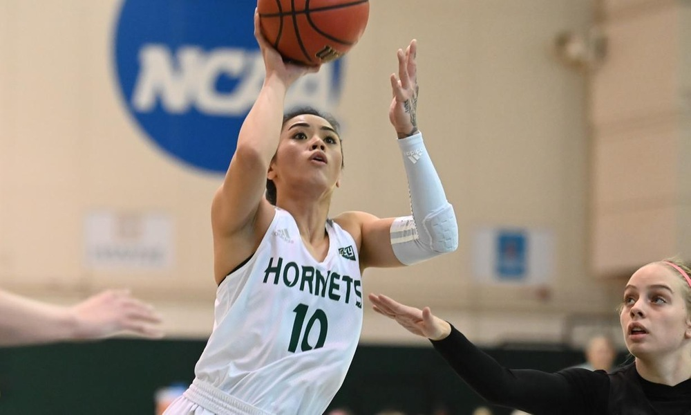 BADE GOES FOR 20, BUT WOMEN'S HOOPS FALLS AT HOME TO PORTLAND STATE