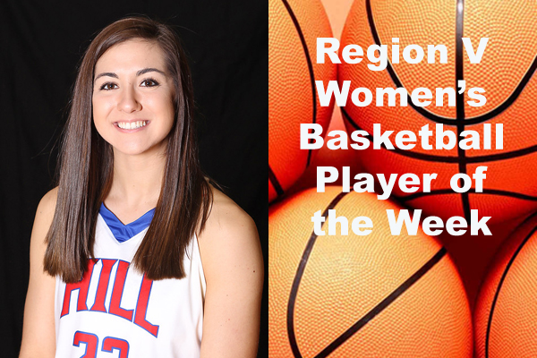 Region V Women's Basketball Player of the Week (Oct. 29 - Nov. 4)