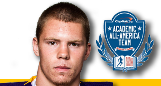 Golden Eagle Stephen Bush earns CoSIDA Academic All-District honor
