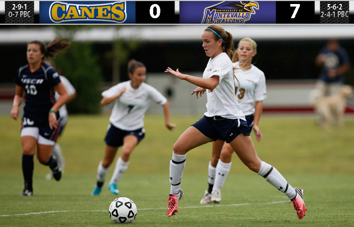 Lady 'Canes Struggle, Lose At Montevallo