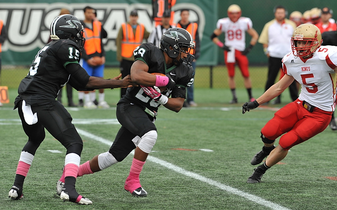 Marcus Holley Rushes For Career-High 168 Yards in 21-17 Loss at Wilkes