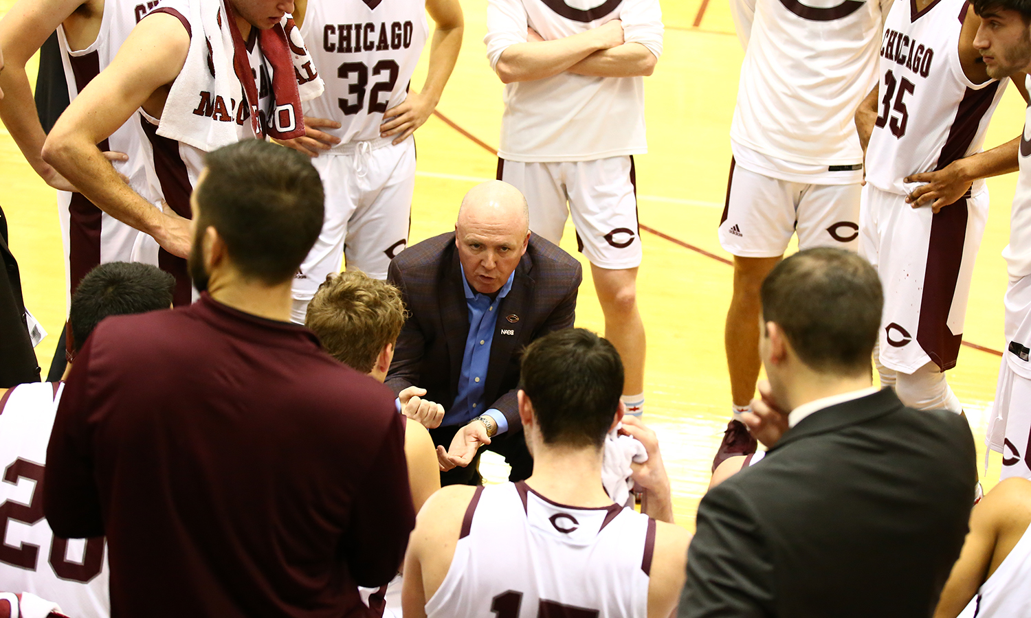 McGrath Earns 300th Win, Maroon Men's Basketball Routs Washington College 85-51