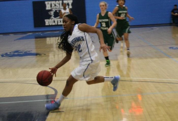 Kerns Career Day Lifts Women's Basketball over Frostburg