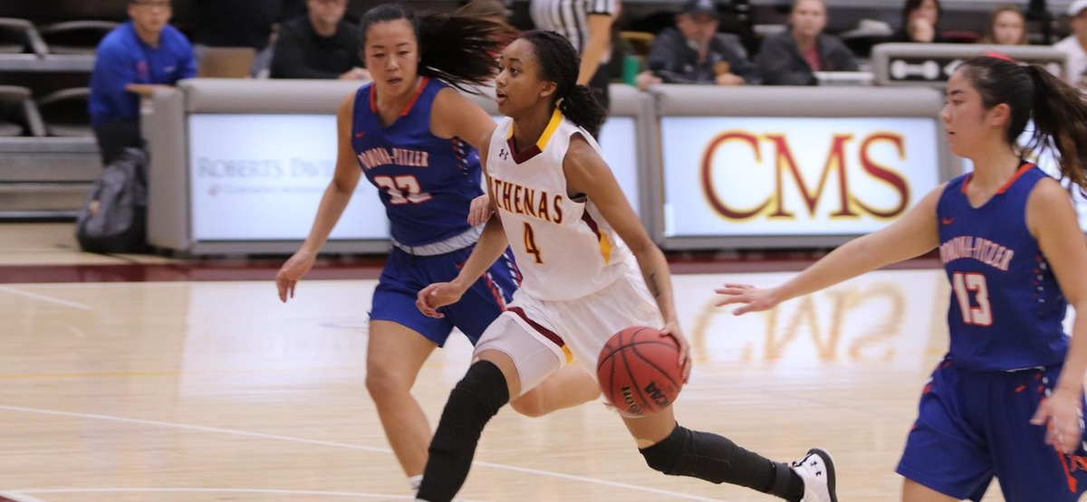 Inside Dominance Leads CMS Women's Basketball Past Pomona-Pitzer, Into Sole Possession of First