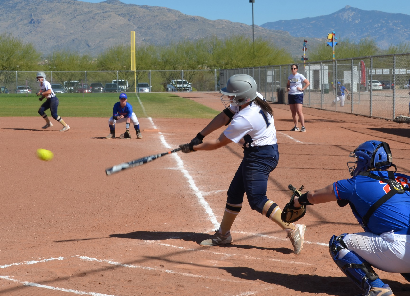 Softball Comes Up Short in Opener at USJ